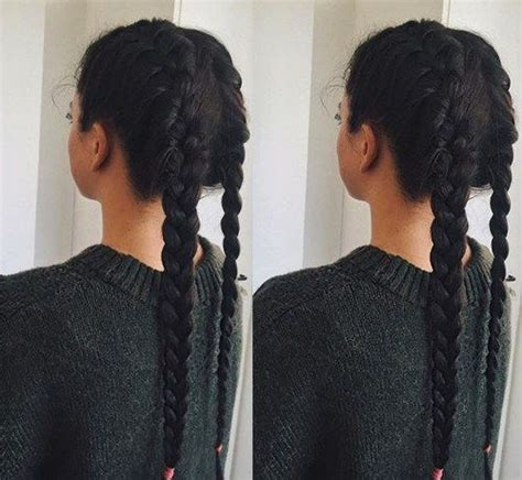 too brains hairstyle 35 two french braids hairstyles to double your style