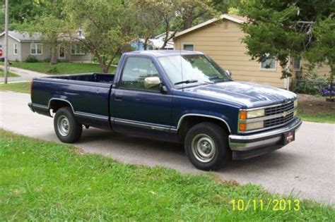 automobile air conditioning service 1993 chevrolet g series g30 engine control buy used 1993 chevy c 1500 in leavenworth kansas united states