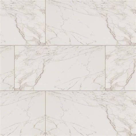 Carrara Marble Bathroom Ideas by Msi Pietra Series Carrara Marble Look Porcelain Tile In