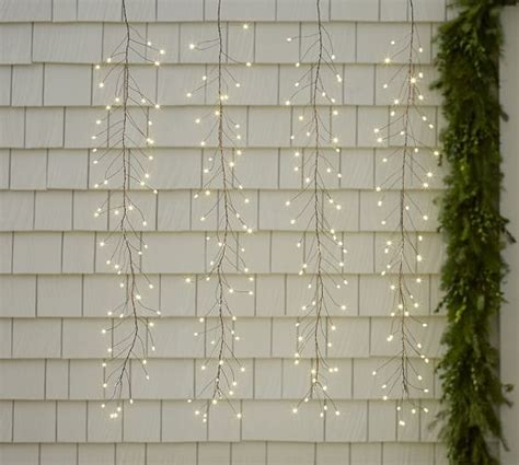 pottery barn hanging lights led hanging rainlights pottery barn