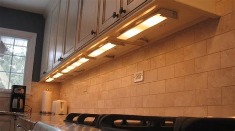 how to install lighting kitchen units fitting