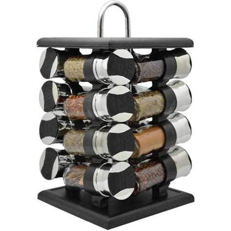 Rotating Spice Rack Home Collections 16 Revolving Spice Rack With 16 2 5