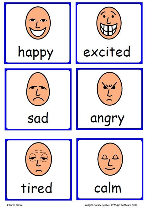 printable feelings flashcards for toddlers 1000 images about symbols on pinterest teaching social