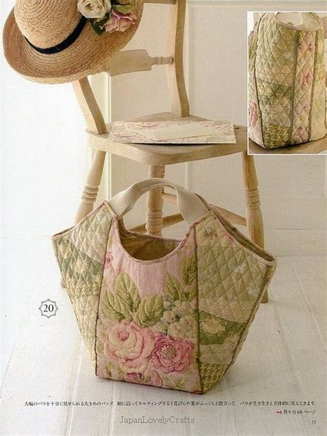 Japanese Patchwork Bag Patterns -