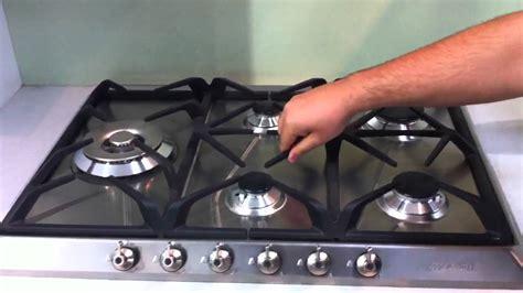 smeg cm gas cooktop cirx youtube