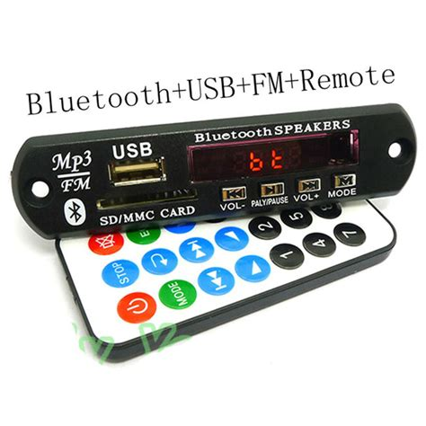 Digital Decoding Board Bluetooth Sd Card Fm Radio digital decoding board bluetooth sd card fm radio jakartanotebook