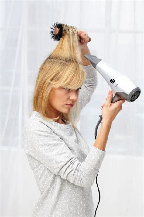 how to section your hair for blow drying master class blow dry your hair like a pro short medium