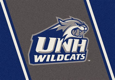 Natural Fiber Rugs by New Hampshire Unh Wildcats Spirit Area Rug College Logo Mat