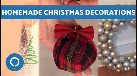 diy  homemade christmas decorations youtube