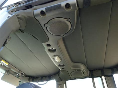 Jeep Jk Headliner 1997 2017 Jeep Wrangler 2 Or 4 Soft Top Headliner