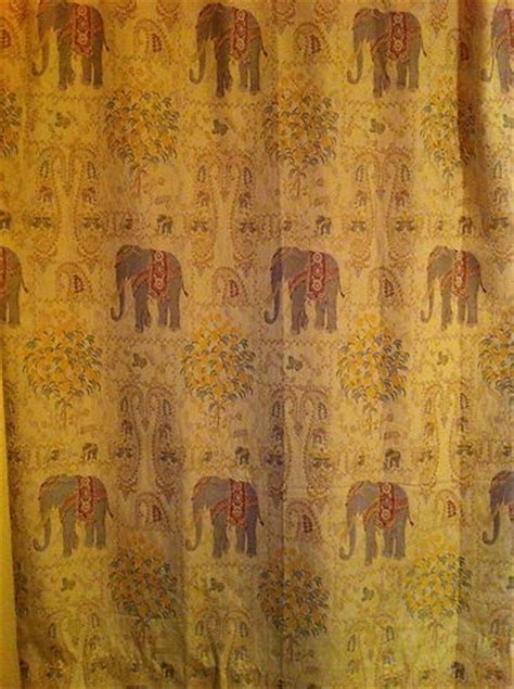 elephant tapestry curtain use pier 1 elephant tapestry window curtain panels in home