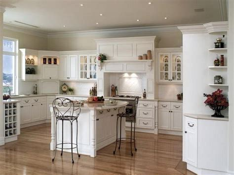 Bright White Pantry Cabinets Country Kitchen Decor Grey Country Kitchens With White Cabinets