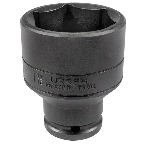 home depot l socket urrea 3 4 in drive deep 6 point 1 1 4 in impact socket