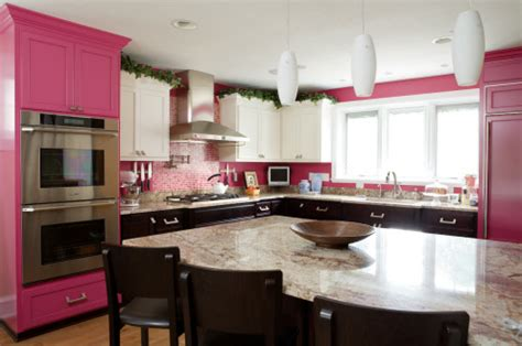 pink kitchen cabinets now that s a pink kitchen 187 curbly diy design community