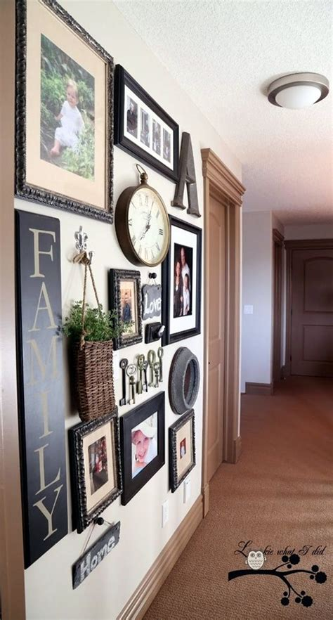wall gallery ideas 40 best family picture wall decoration ideas
