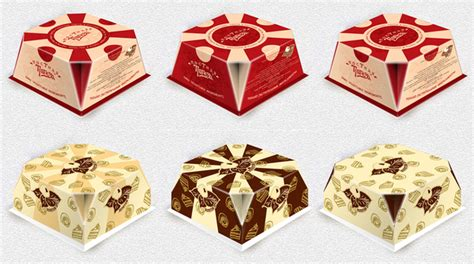 design of cake box on adweek talent gallery