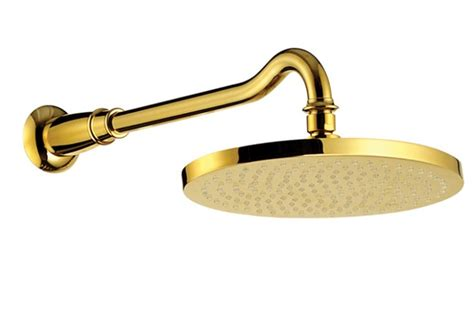 Large Bathtubs For Two Shop Gold Plated Led Shower Head For Beauty Amp Functionality