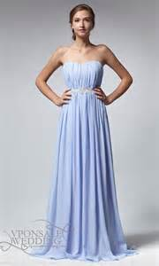 ruched long strapless bridesmaid dress with beads dvw0135