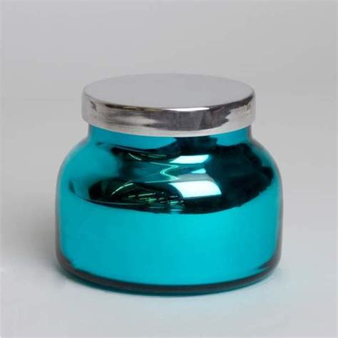 Aspen Bay Blue Candle Volcano by Blue Volcano Turquoise Metallic