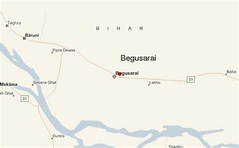 map of begusarai begusarai location guide