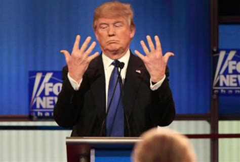 donald trump hands gop debate recap donald trump s big hands marco rubio s