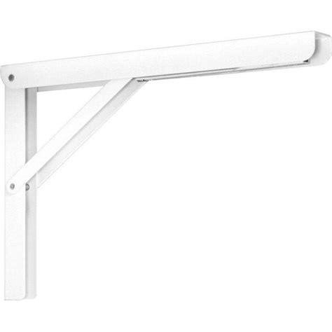 Fold Shelf Bracket by Knape Vogt 12 In Heavy Duty Folding Shelf Bracket In