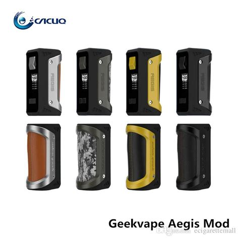 Aegis Water Proof 100w Mod By Geekvape Authentic authentic geekvape aegis mod 100w tc box mod waterproof