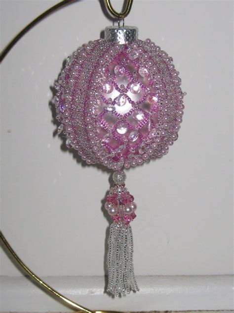 beaded christmas ornament pattern heavenly pay with paypal
