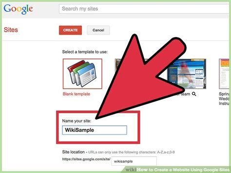 4 Ways To Create A Website Using Google Sites Wikihow How To Build A Website Using Templates