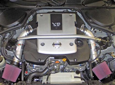 custom nissan 350z engine 2007 and 2008 nissan 350z gains estimated 8 17 horsepower