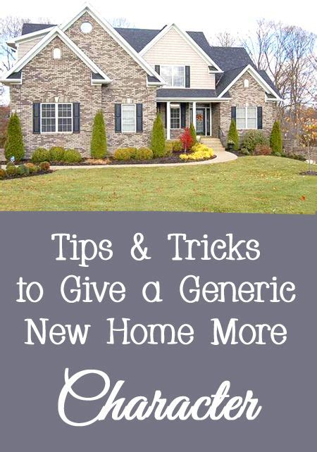 how to decorate a new home how to give a new home more character interiors house