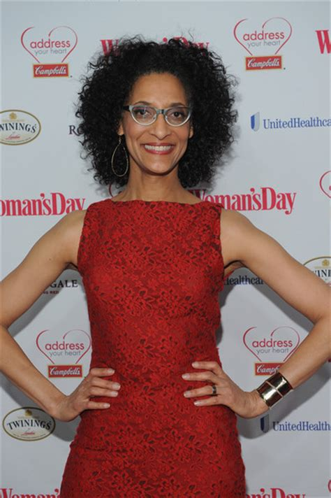 carla hall s hair carla hall pictures arrivals at the woman s day red