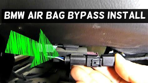 bmw passenger seat occupancy airbag mat bypass install