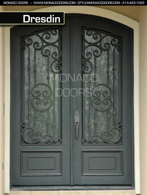 Wrought Iron Exterior Door Security Screen Doors Iron Door