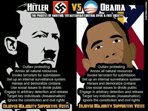 Obama Hitler Meme - obama is the new hitler pinterest journal my day summed