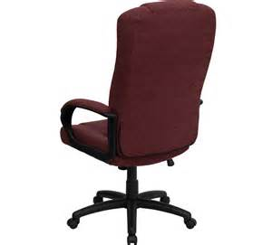 fabric office chairs high back burgundy fabric executive office chair bt 9022 by gg