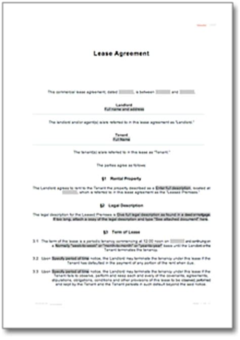 Nevada Residential Lease Agreement Sle Direct To Download Nevada Residential Lease Agreement Template