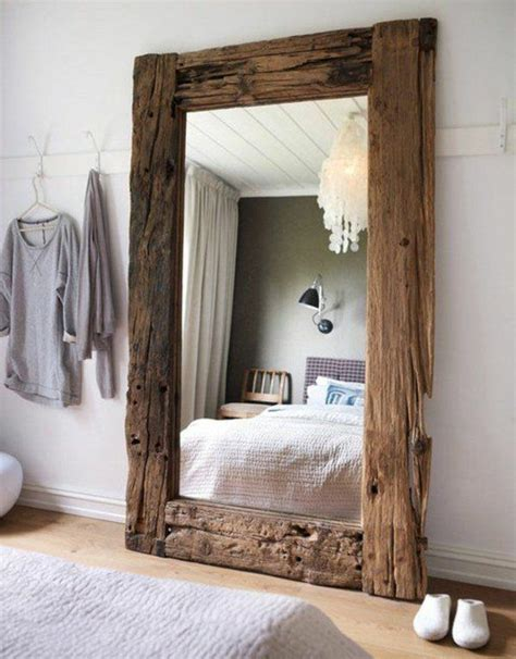 Comment Faire Un Miroir Maison by Comment Faire D 233 Coration En Bois Flott 233 Miroir En Bois