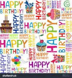 happy birthday seamless background pattern vector stock vector 82205776 shutterstock