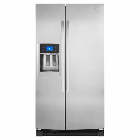 kenmore elite refrigerator ice fan kenmore elite 25 1 cu ft by refrigerator w