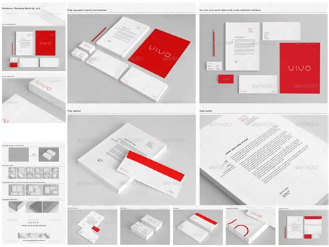 branding templates corporate stationery psd mockups for branding identity