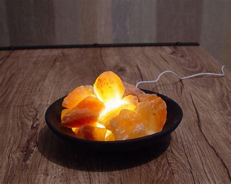 himalayan salt l bowl rock salt l himalayan clay bowl basket usb led light