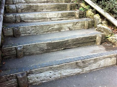 Rail Sleepers by Matlock S Railway Sleeper Steps