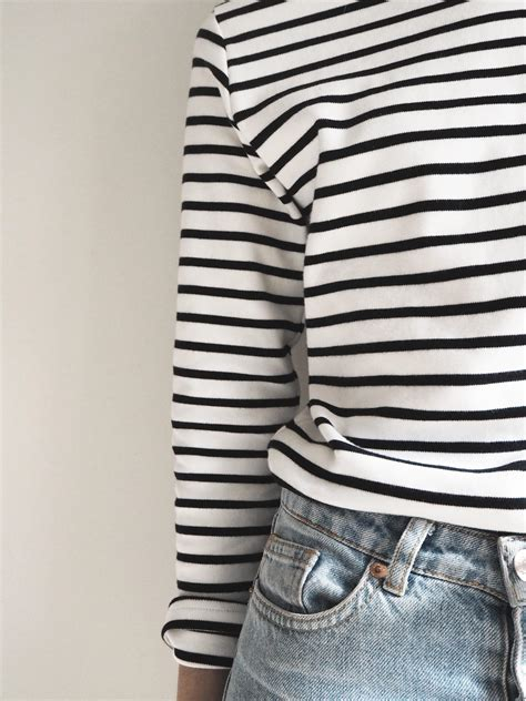 Designer Or High Bag Some Breton Stripes by My Favourite Breton Striped Top Cate St Hill