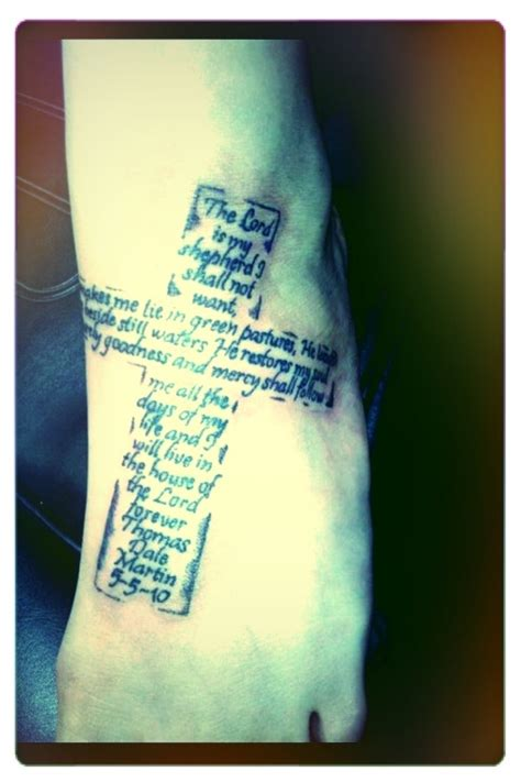 psalm 23 tattoo 25 best ideas about psalm 23 on