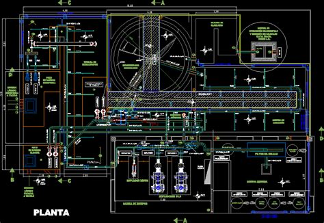 factory layout design autocad plant sewage treatment dwg block for autocad designs cad