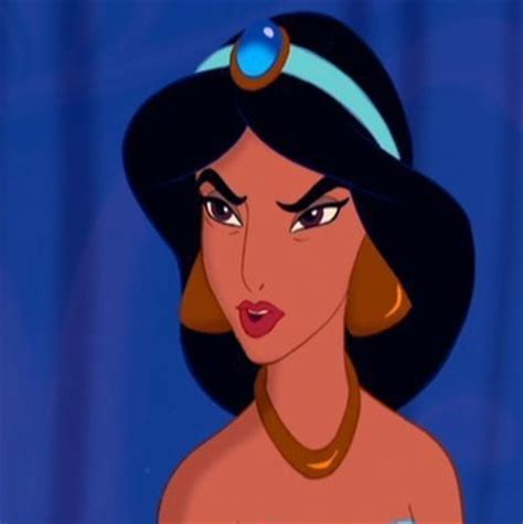 Angry Princess If Jasmine Were To Ask You For Advice What Would You Tell