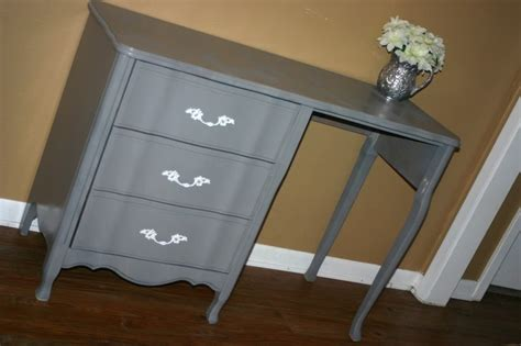 desk ls for sale charming creations provincial gray desk or vanity