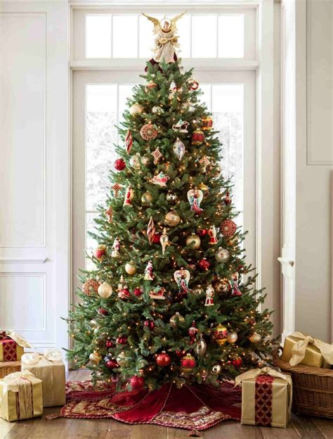 fir christmas tree ideas balsam and noel style tree tree decorating ideas