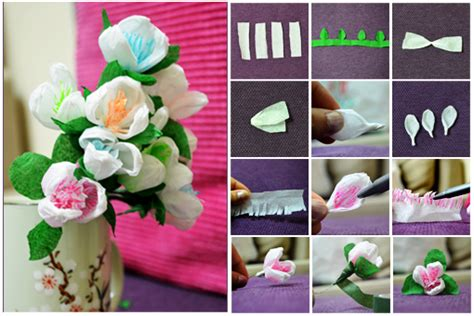 How Do You Make Crepe Paper Flowers - how to make crepe paper flowers how to
